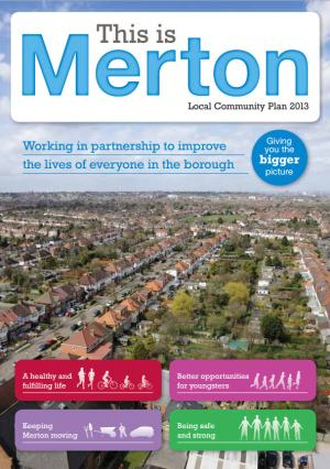 Merton Community Plan cover