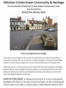 Winter 2014 Bulletin