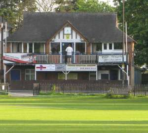 Mitcham Cricket Club pavilion