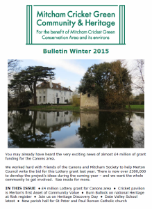 MCGC&H newsletter Winter 2015