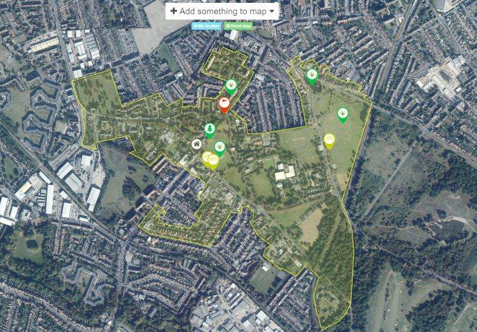 Interactive Community Map